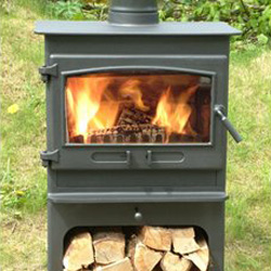 Dean Stoves Croft Small Logstore 8Kw
