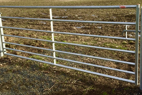 7 Bar Metal Field Gate