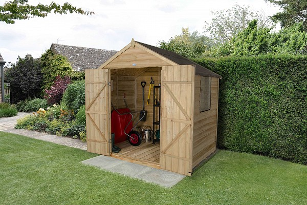 Overlap Shed Pressure Treated (Double Door)